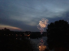 Living across from City Island has perks like frequent fireworks